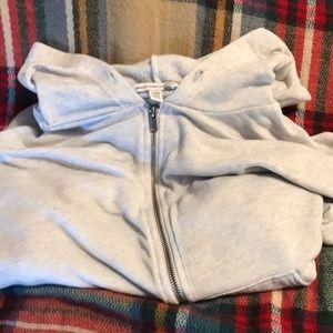 American Eagle Zip Up Hooded Sweat Jacket